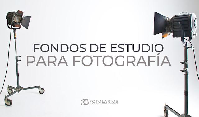 Fondos de estudio para Fotografía