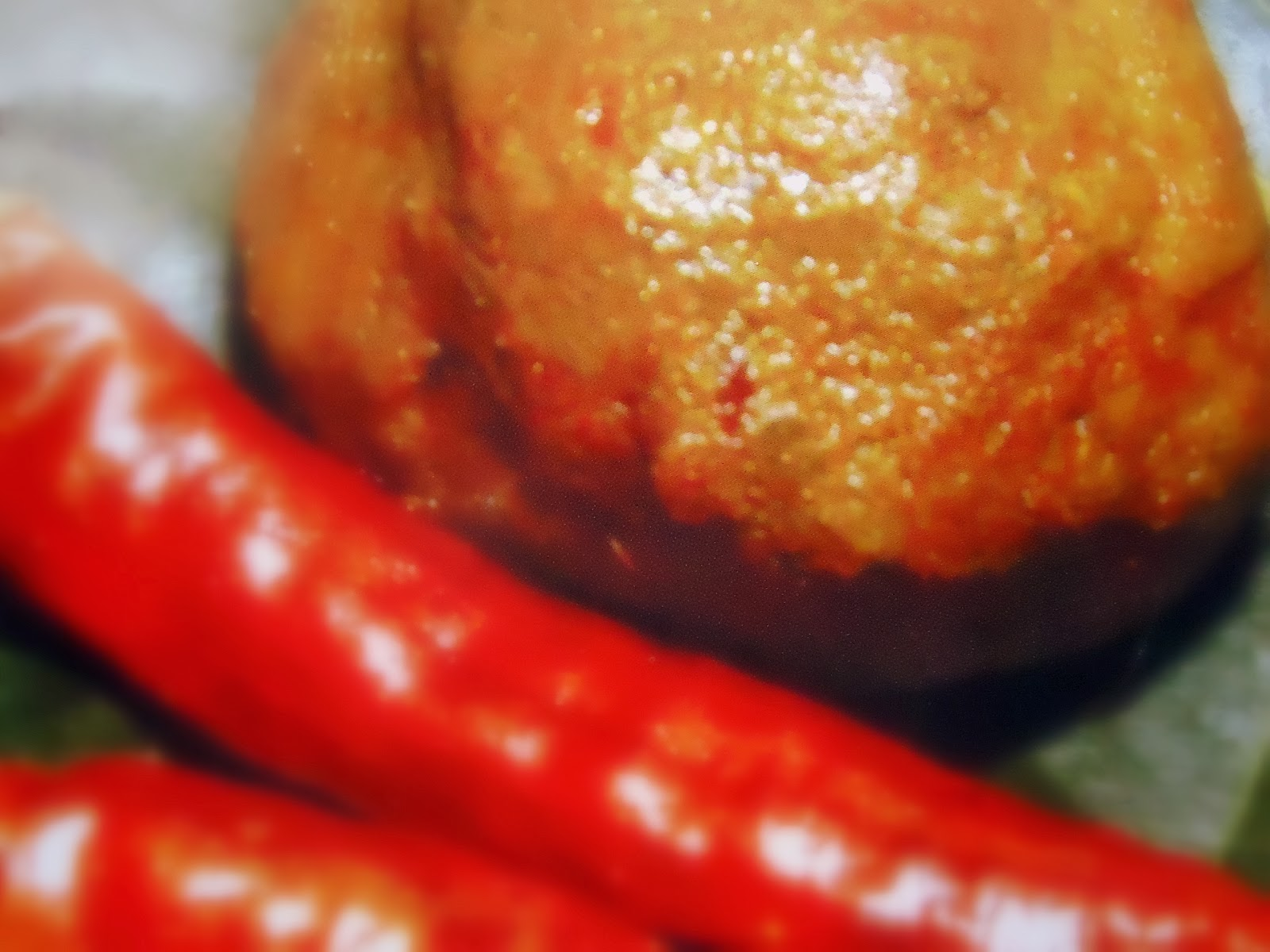 Kucho chingri bata  - Hot tiny prawn paste