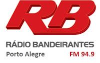 Rádio Bandeirantes FM 94,9 de Porto Alegre RS