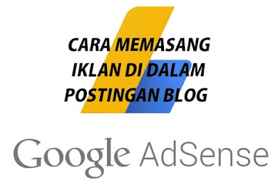 pasang iklan di postingan blogspot
