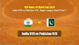 India U19 vs Pakistan U19 ICC U19 World Cup Semi-Final 1 100% Sure Prediction