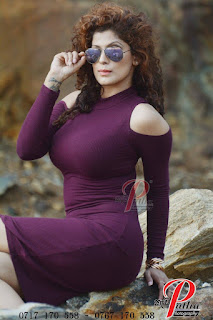 Aishara Athukorala big two purple tight