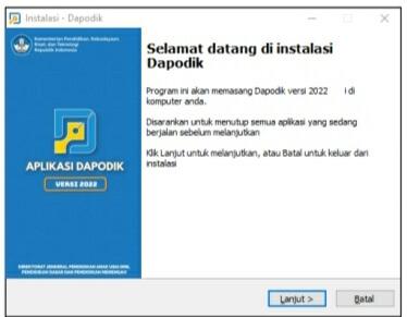 Installer Aplikasi Dapodik Versi 2022