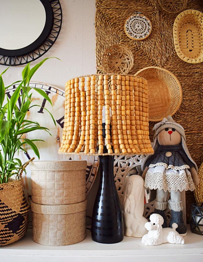 DIY - Jak zrobić lampę z koralików za 30 złotych?