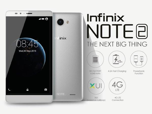 Spesifikasi Infinix Note 2 Harga Murah Kualitas Mewah | NGINTIP HP