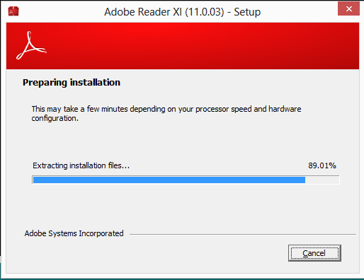 How to Extract an MSI Installer from Adobe Reader XI 2