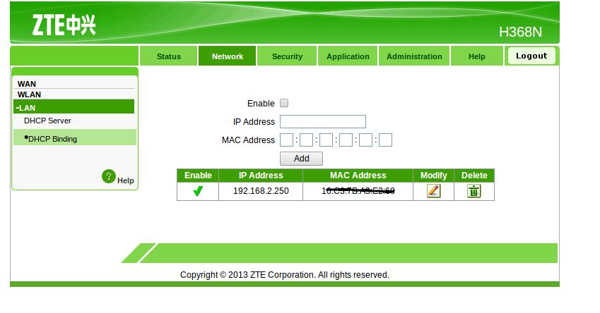ander ip adres aanvragen ziggo