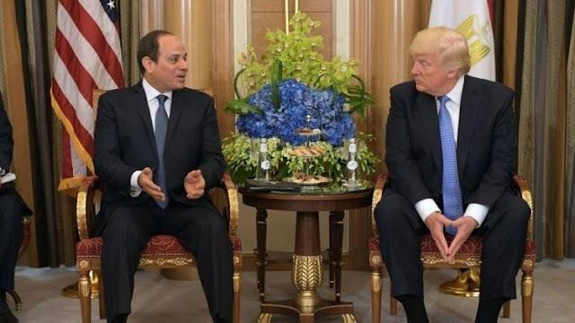 شاهد ماذا قال ترامب عن حذاء السيسي عندما التقاه في السعودية تعليقه كان مفاجأ للسيسي