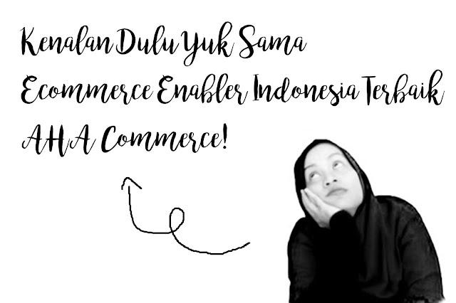 Ecommerce Enabler Indonesia Terbaik, AHA Commerce.