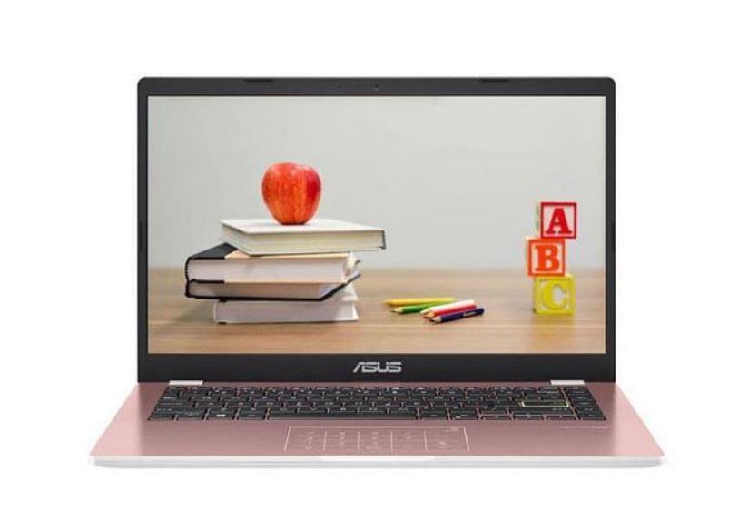 Asus Vivobook E410MA FHD453, Laptop Cantik Warna Rose Pink dengan Harga Terjangkau