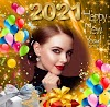 Happy New Year 2021 Photo Frame Tech :-Create greeting photo card,Happy New Year Photo Frames 2021.