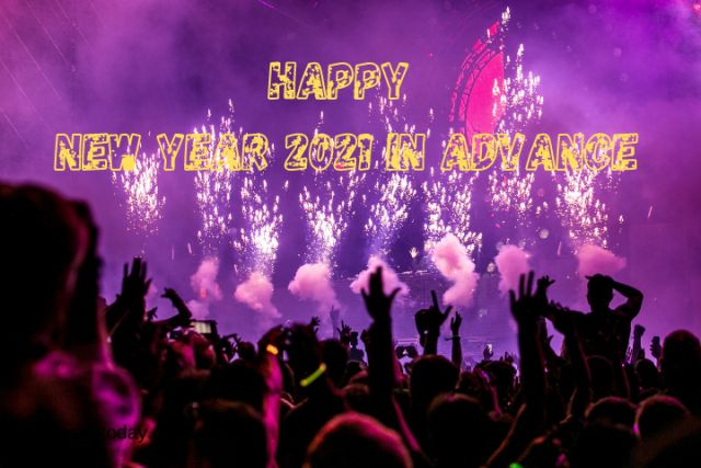 Happy new year 2021 in advance for best friends