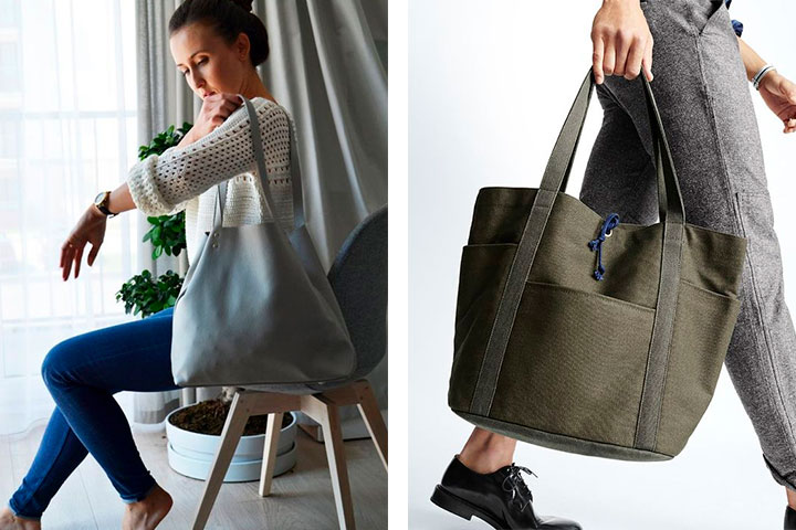 3 совета, как носить сумку, чтобы спина не болела