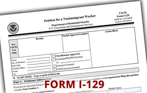 Form I-129 Petitions - Visa Consultant