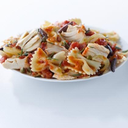 Tuna alla Puttanesca Recipe