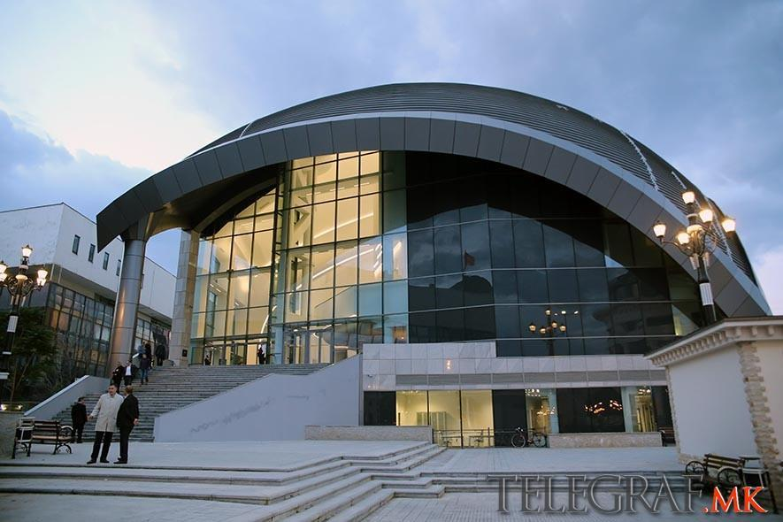 Simon Trpceski opens the new Macedonian Philharmonic Orchestra building