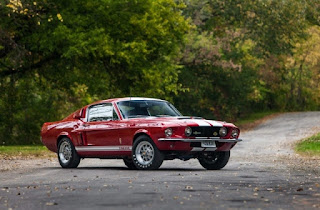 1967-Ford-Mustang-Shelby-GT500-American-Muscle-Car-Front-Right