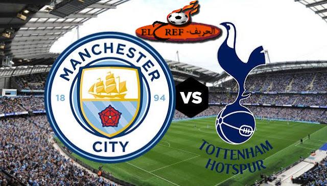 مباراة مانشستر سيتي وتوتنهام بتاريخ 21-11-2020 الدوري الانجليزي