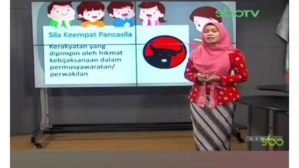 Heboh Logo PDIP Jadi Materi Pelajaran Pancasila