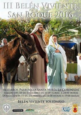 Belén Viviente de San Roque 2016