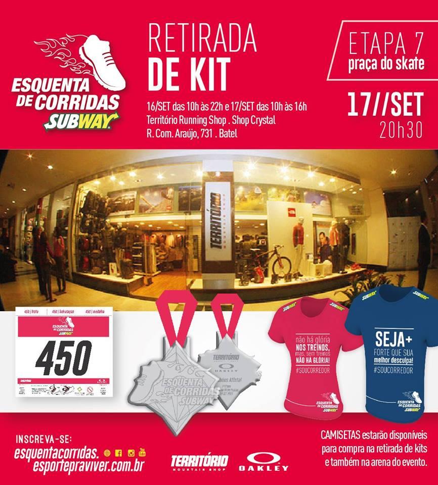 ba983a56e Na Loja Território Mountain Shop do Shopping Crystal Plaza piso L2.  QUARTA-FEIRA