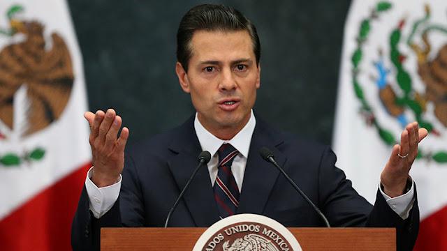 """Peña Nieto a Trump: """"México no va a pagar por el muro"""""""
