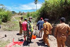 TNI Hadiri Trail Tes Pembangunan di Desa Lumban Pinggol