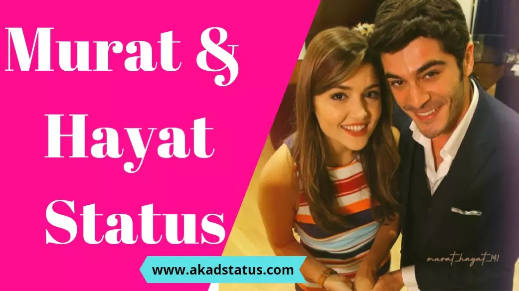Hayat and murat status | Hayat and murat love images