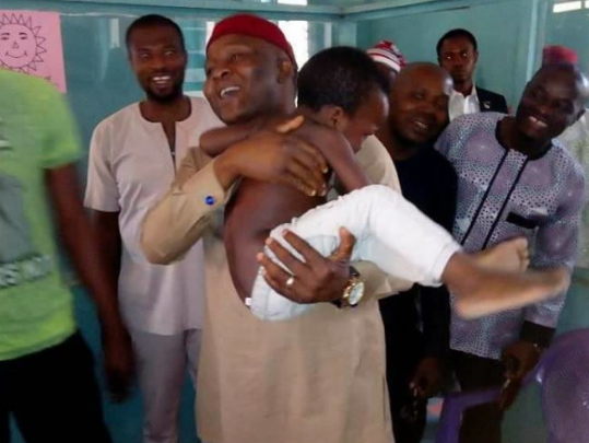 imo deputy speaker pays hospital bill boy intestines ripped out
