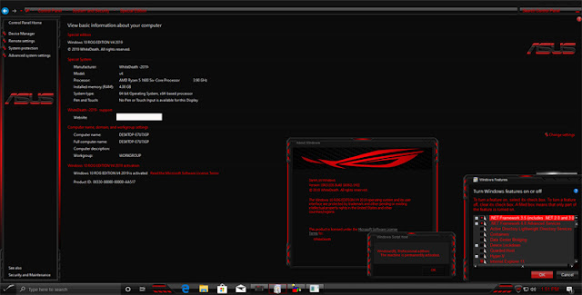 Windows 10 Rog Edition v4 Full