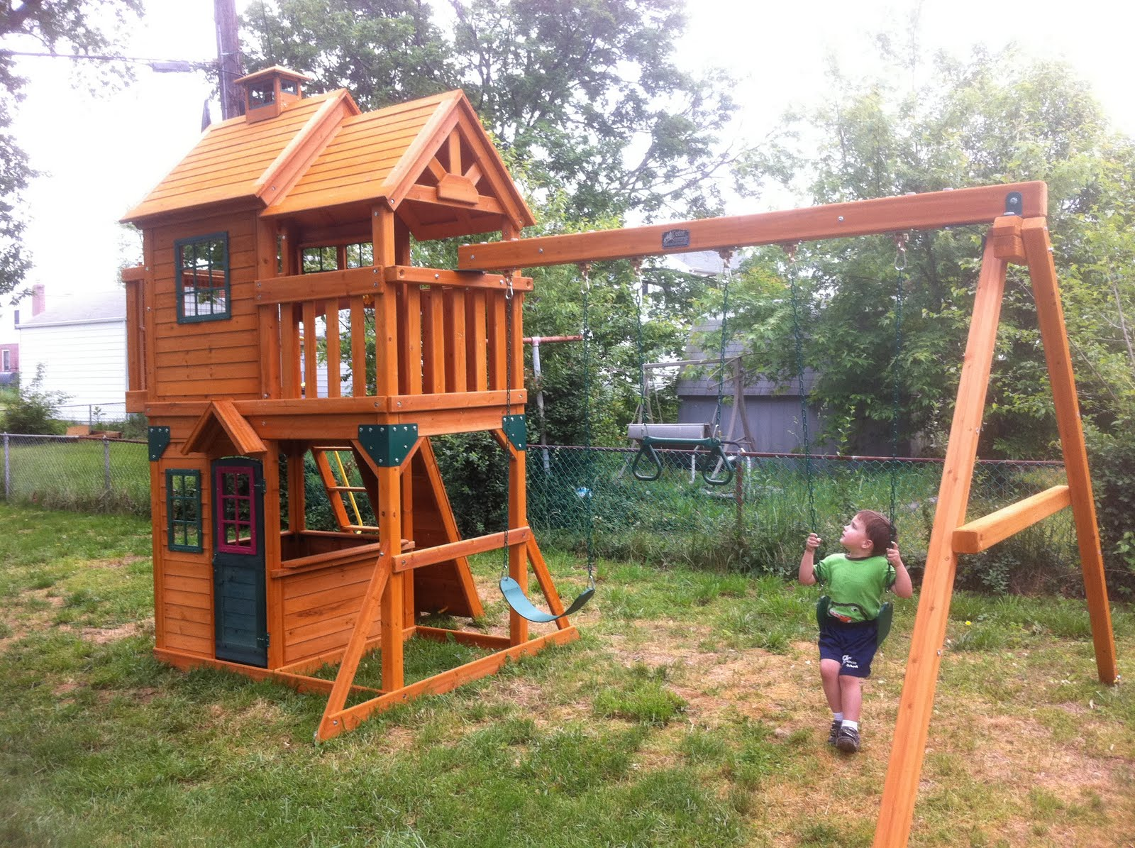 Cedar Summit Playset Or What I Bought With That Advance Brigid