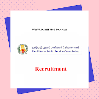 TNPSC Recruitment 2019 for Research Assistant (26 Vacancies)