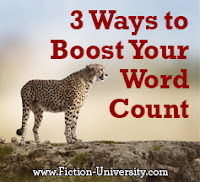 boosting your word count