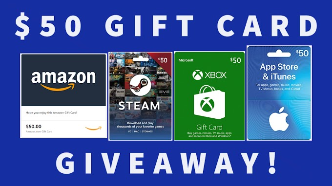Sorteio de Um Gift Card de R$ 270 Reais de sua escolha!