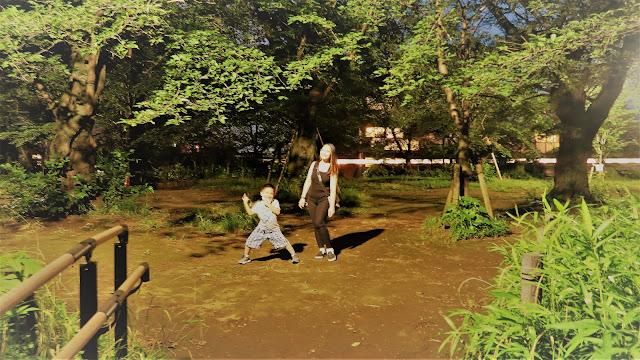 Senzokuike Park picnic area
