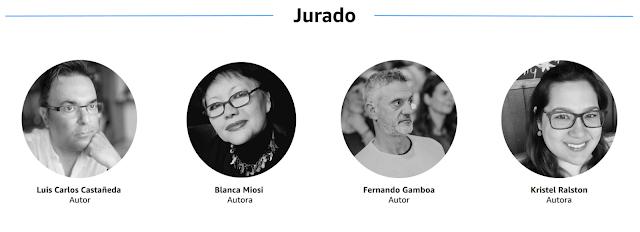 jurado premio literario amazon