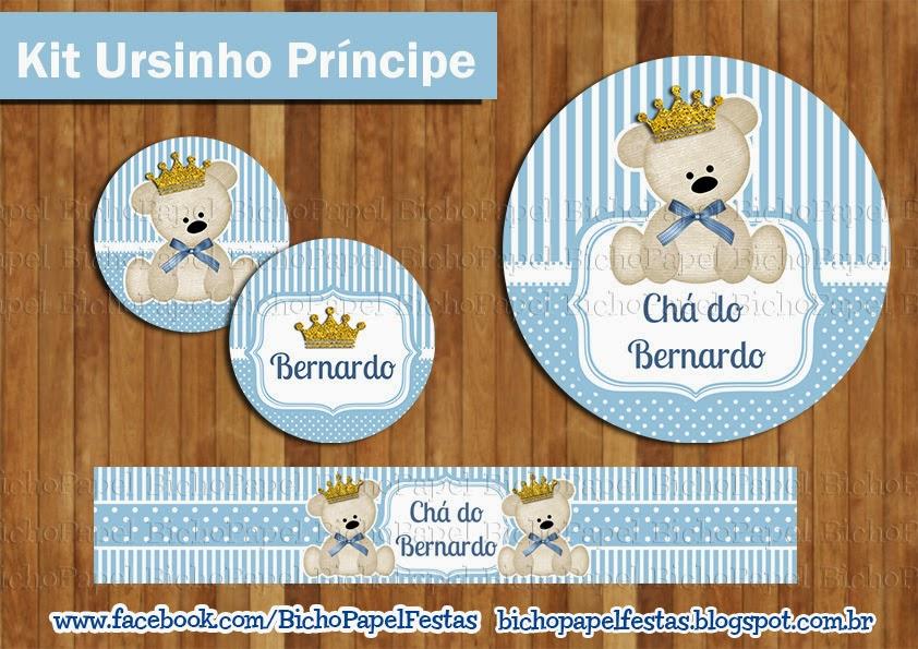 Kit Festa Ursinho Principe