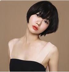 gaya rambut pendek wanita terbaru 18
