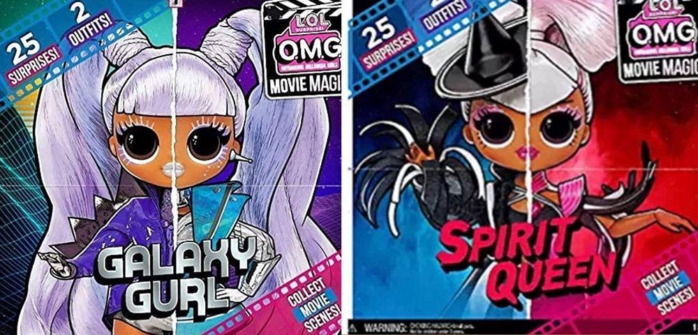 Куклы LOL Surprise OMG Galaxy Gurl и Spirit Queen
