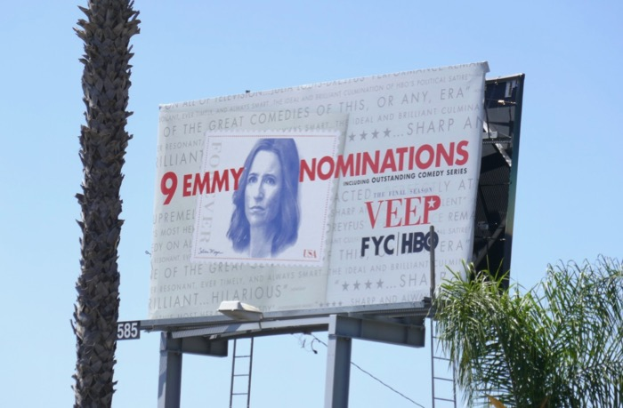 Veep 9 Emmy nominations billboard