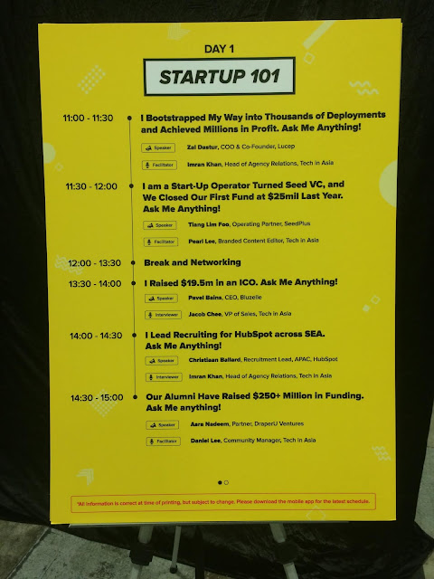 Time schedule of Blockchain stage