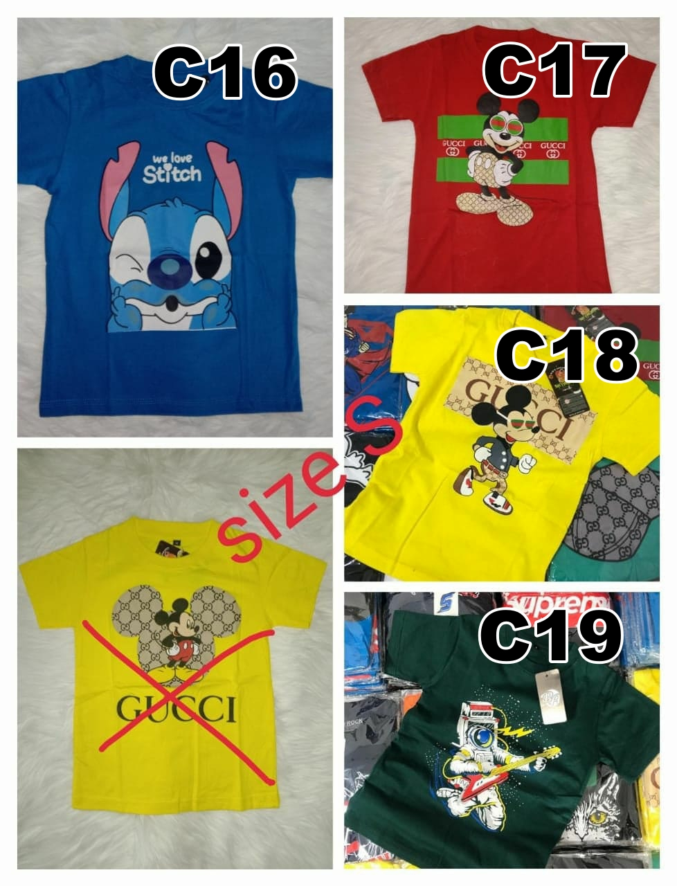 Kaos Distro Trend Keren Simple Ukuran S Cotton Combed