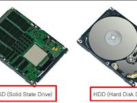 Beberapa Perbedaan Besar antar HDD (HardDisk) dan SSD (Solid State Drive)