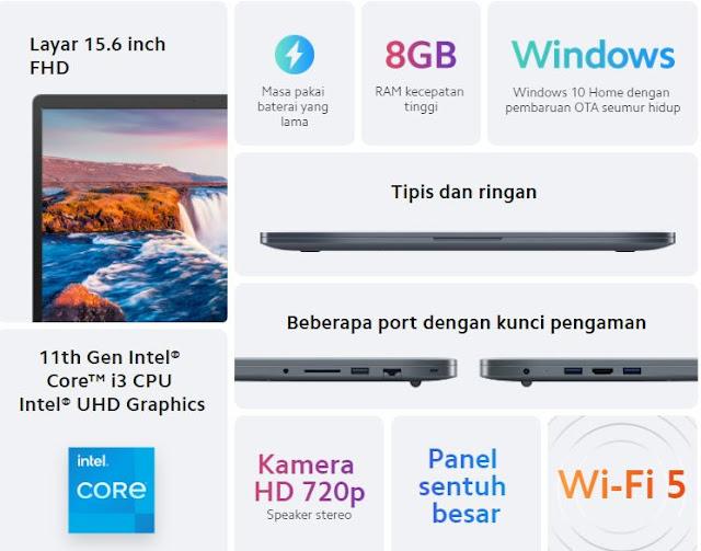 laptop Redmibook 15 Harga