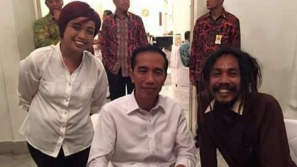 Mr.Ho saat diundang ke Istana Negara oleh Presiden Jokowi. (Dok. Istimewa)