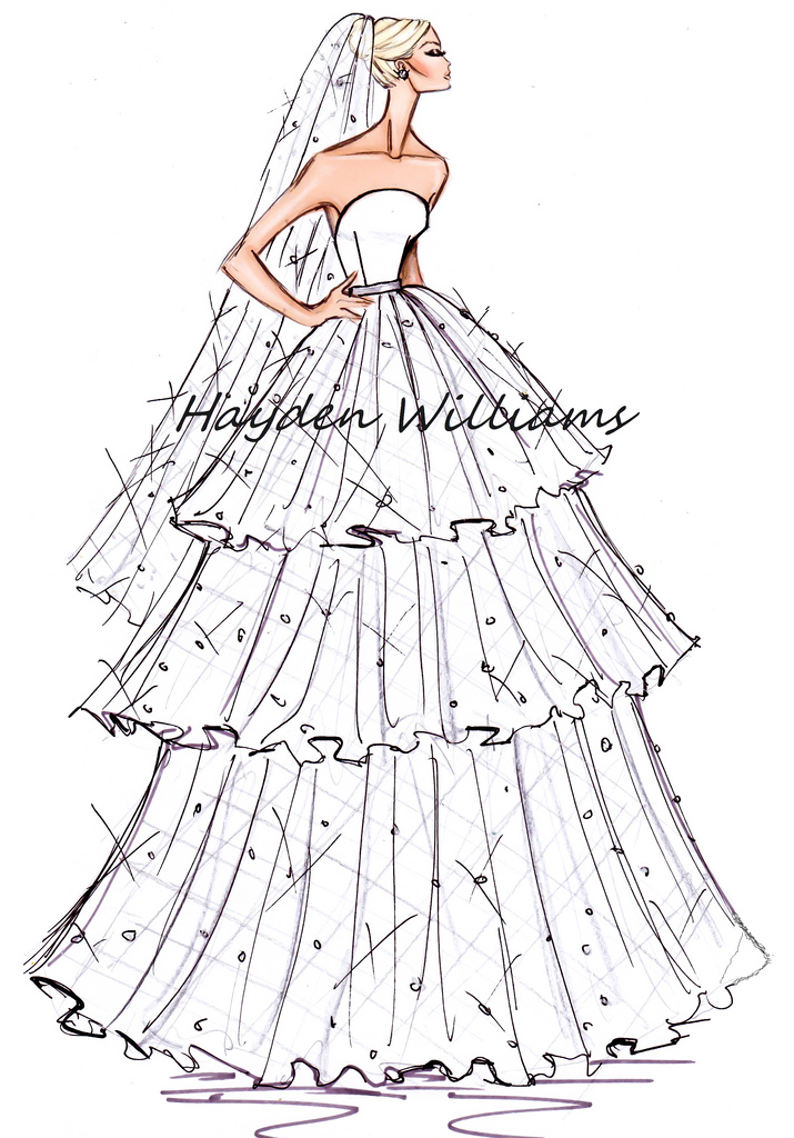 hayden williams fashion illustrations  hayden williams