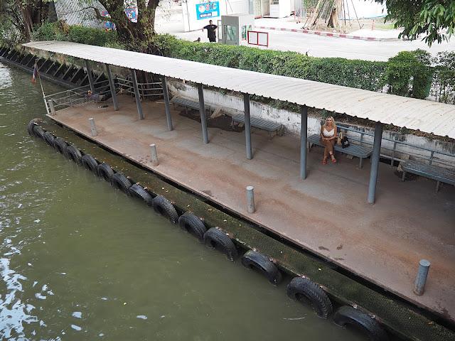 Бангкок, причал Witthayu (Bangkok, Witthayu pier)