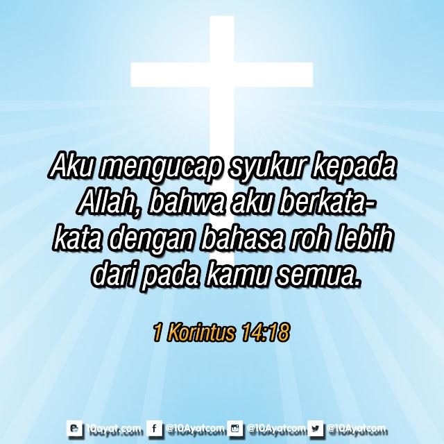 1 Korintus 14:18
