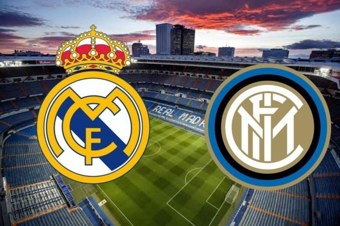 مباراة ريال مدريد وانتر ميلان اليوم