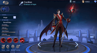 Jadi Kekasih Carmilla, Inilah Cecilion Hero Baru Mobile Legends